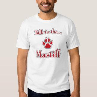 Talk to the Mastiff red T-Shirt