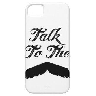 Talk to the Mustache! - case