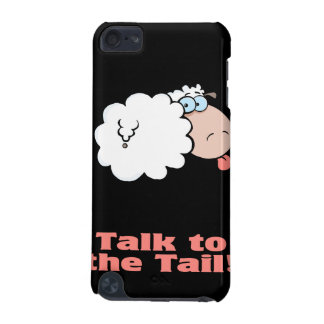 talk to the tail attitude funky sheep iPod touch 5G cover