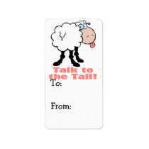 talk to the tail attitude funky sheep label