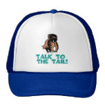 Talk to the Tail Cat Hats
