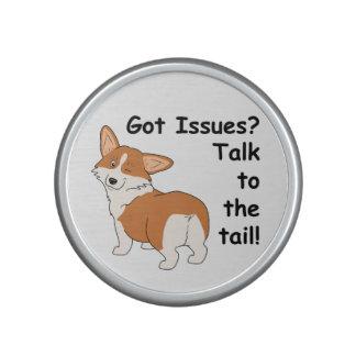 Talk to the Tail Corgi Bluetooth Speaker