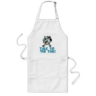 Talk to the Tail Cow Aprons
