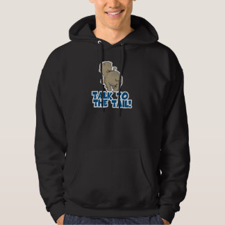 Talk to the Tail Hippo Hoodie