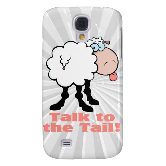 talk to the tail itude funky sheep galaxy s4 case