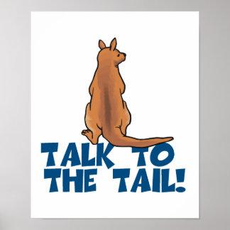 Talk to the Tail Kangaroo Poster