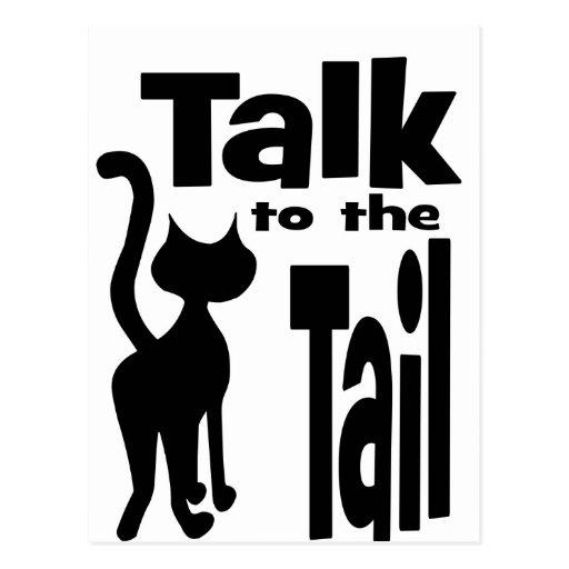 Talk to the Tail Postcard
