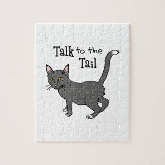 Talk To The Tail Jigsaw Puzzle