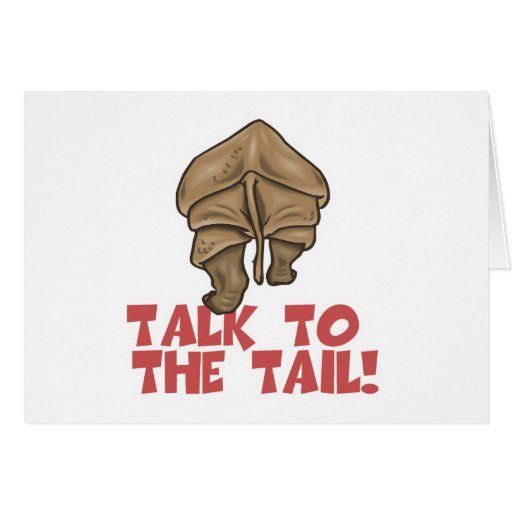 Talk to the Tail Rhino Cards