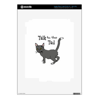 Talk To The Tail iPad 3 Decals