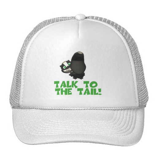 Talk to the Tail Skunk Hat