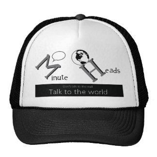 talk to world trucker hat