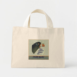Talk Too Much Mini Tote Bag