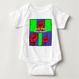 Talk With Your Hands! Baby Bodysuit