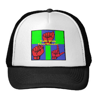 Talk With Your Hands! Trucker Hat
