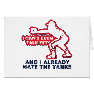 Talk Yet Yankees Hater Card