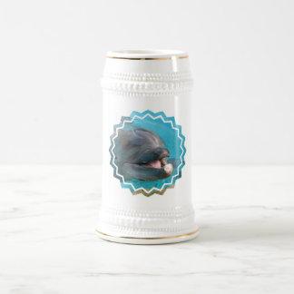Talkative Dolphin Beer Stein Mugs