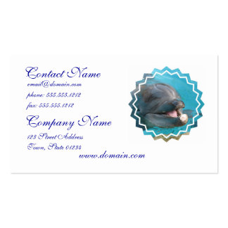 Talkative Dolphin Business Cards