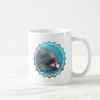 Talkative Dolphin Coffee Cup Coffee Mugs