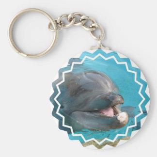 Talkative Dolphin Keychain