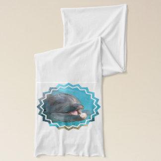 Talkative Dolphin Scarf