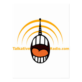 Talkative Radio Postcard