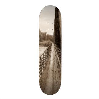 Talkeetna Railroad Bridge Walkway Skateboard Deck