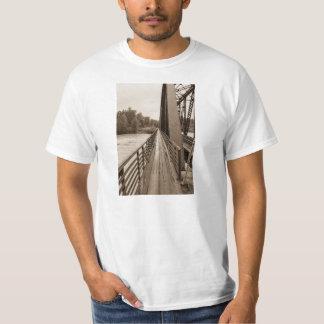 Talkeetna Railroad Bridge Walkway T-Shirt
