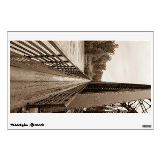 Talkeetna Railroad Bridge Walkway Wall Sticker