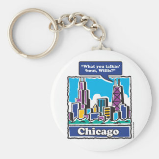 TALKIN-BOUT-WILLIS KEYCHAIN