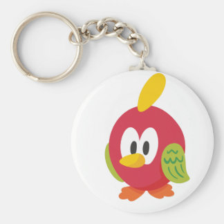 talking bird walking keychain