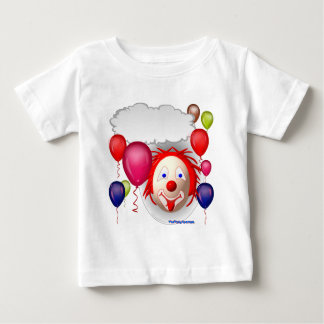 Talking Birthday Clown Baby T-Shirt