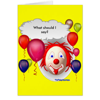 circus theme greeting cards  zazzle, Birthday card