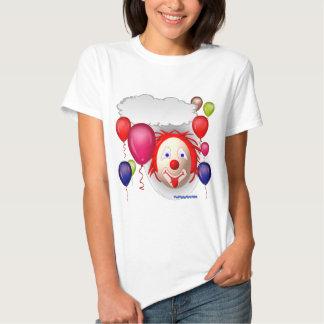 Talking Birthday Clown Tee Shirt