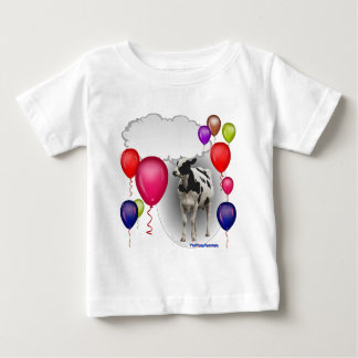 talking birthday cow baby T-Shirt