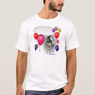 talking birthday cow T-Shirt