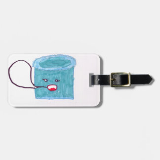 Talking Blue Cake Tags For Bags