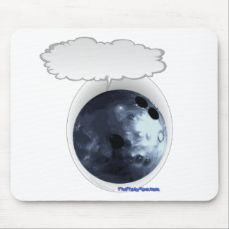 Talking Bolwing Ball Mouse Pad