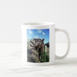 Talking Brown Horse Coffee Mug