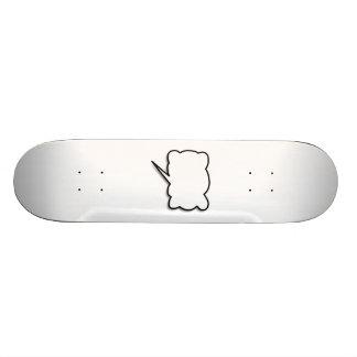 Talking Bubble Custom Skateboard