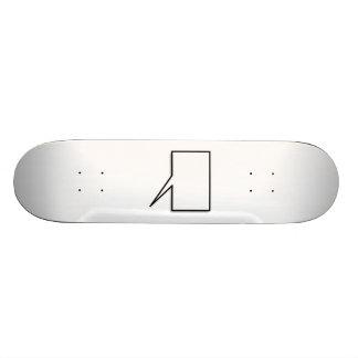 Talking Bubble Skateboard Deck