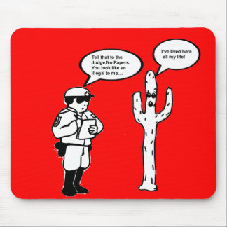 TALKING CACTUS MOUSE PAD