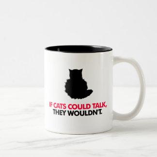 Talking Cat mug