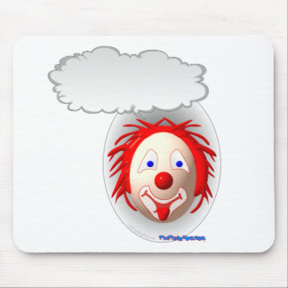 Talking Clown Mouse Pad