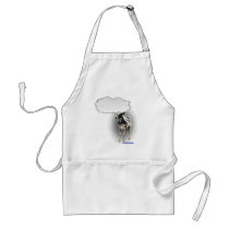 Talking Cow Adult Apron