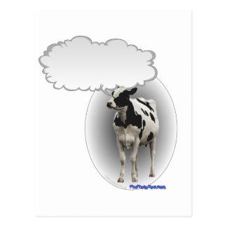Talking Cow Postcard