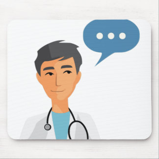 Talking Doctor Mouse Pad