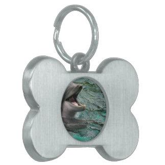 Talking Dolphin Pet ID Tags