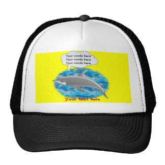 Talking Dolphin Trucker Hat