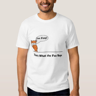 Talking Fox Shirts